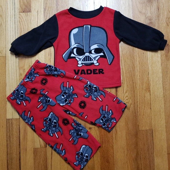 04554684c STAR WARS DARTH VADER Fleece Pajama Set 2T